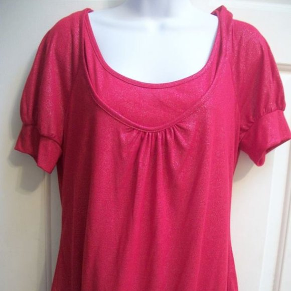 No Boundaries Red top Size XL